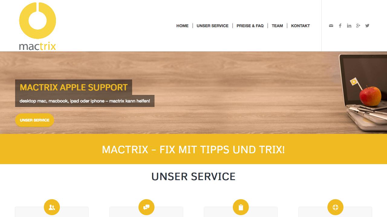 Screenshot 2018 4 9 HOME mactrix - Partner und Kooperationen