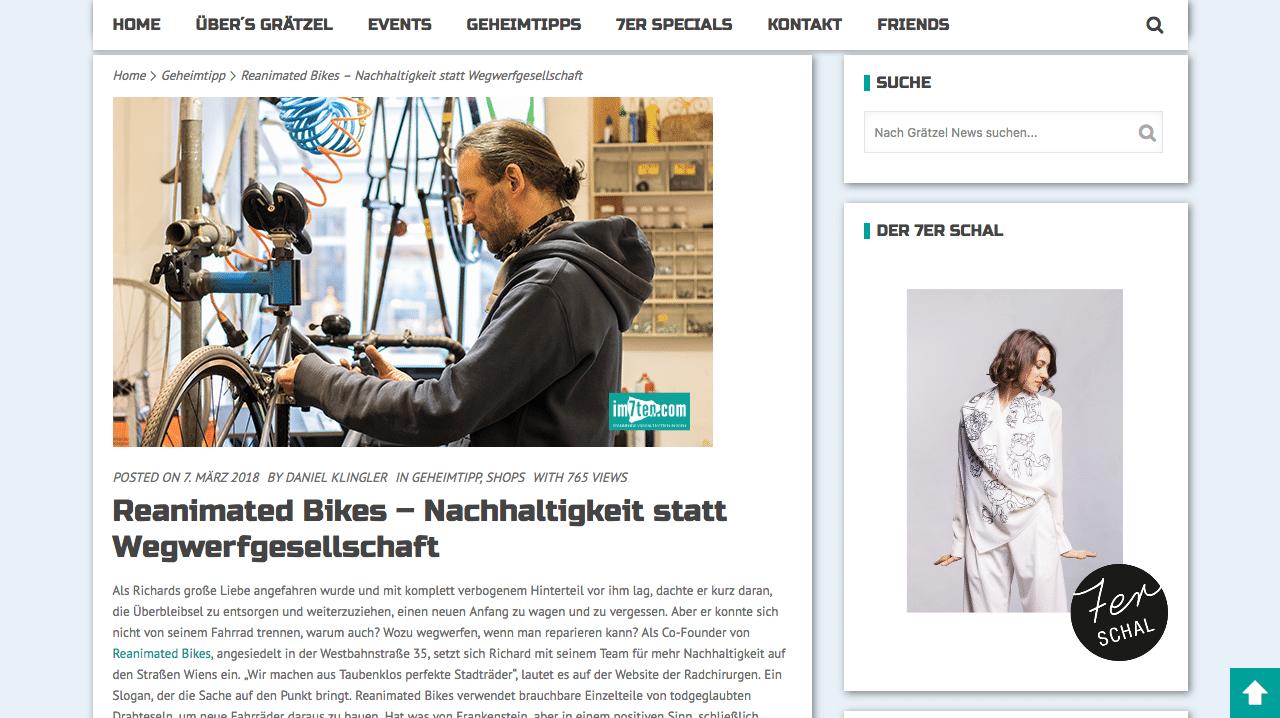 Screenshot 2018 5 15 Reanimated Bikes – Nachhaltigkeit statt Wegwerfgesellschaft - Reviews und Presse