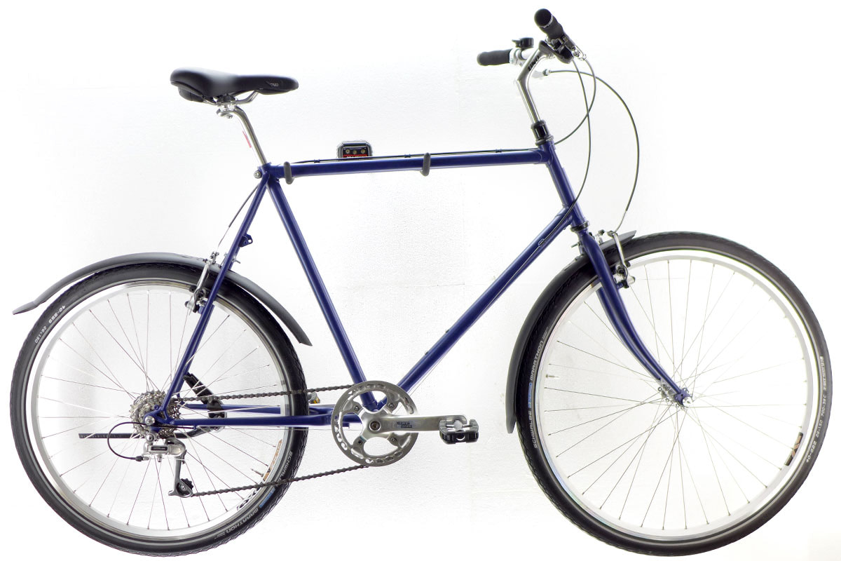 cru darkblue 0203 1200 - SHOWROOM - custom bikes - neubau - vintage bikes
