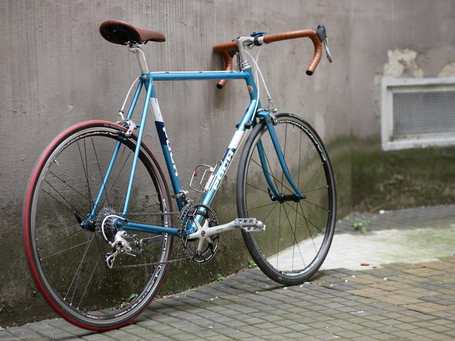 P1100916 - Puch Clubman Rennrad Blau