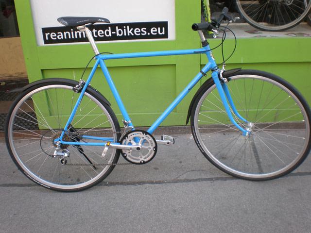 dusika 640 na - SHOWROOM - custom bikes - neubau - vintage bikes